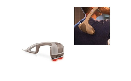 Percission Action Handheld Massager With Heat Soothing Heat Relaxation 01cfda1f-fd6d-4978-a87e-ad9002bb6231