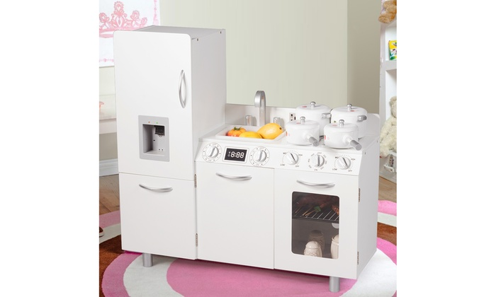 Up To 32% Off on Costway Kids Pretend Kitchen ... | Groupon ...