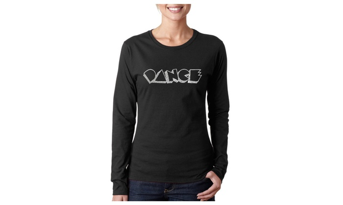 Women's Long Sleeve T-Shirt - DIFFERENT STYLES OF DANCE