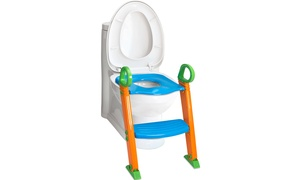 OxGord Portable Toilet Potty Training Seat and Ladder Step
