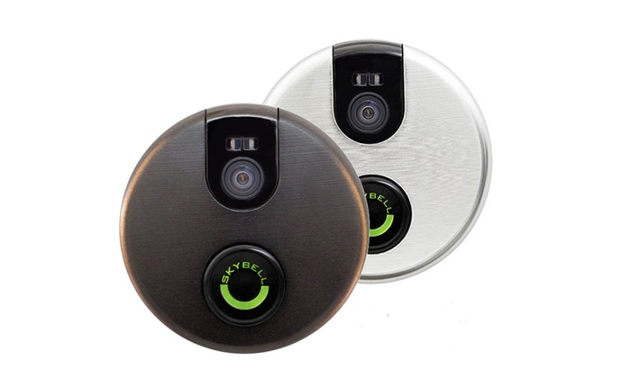 SkyBell 2.0 Smart Wi-Fi Video Security Doorbell