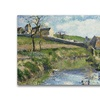 Camille Pissaro The Farm at Osny Canvas Print