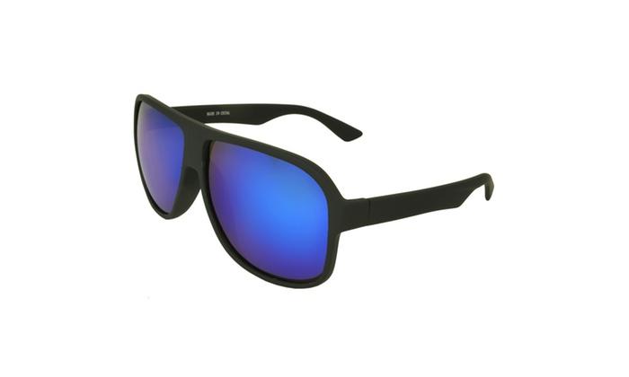 MLC Eyewear 'Geo' Fashion Retro Sunglasses Shades