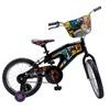 """Street Flyers Skylanders Kid's Bike, 16"""" wheels, 11"""" frame, Black"""