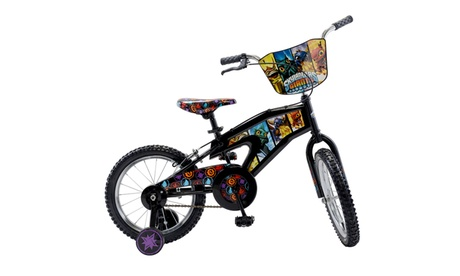 "Street Flyers Skylanders Kid's Bike, 16"" wheels, 11"" frame, Black 1397a33f-c515-42e5-96bb-c9ea1fbe3187"