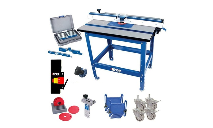 Kreg shop stand w precision router table top reducing rings kreg shop stand w precision router table top reducing rings bundle keyboard keysfo Choice Image