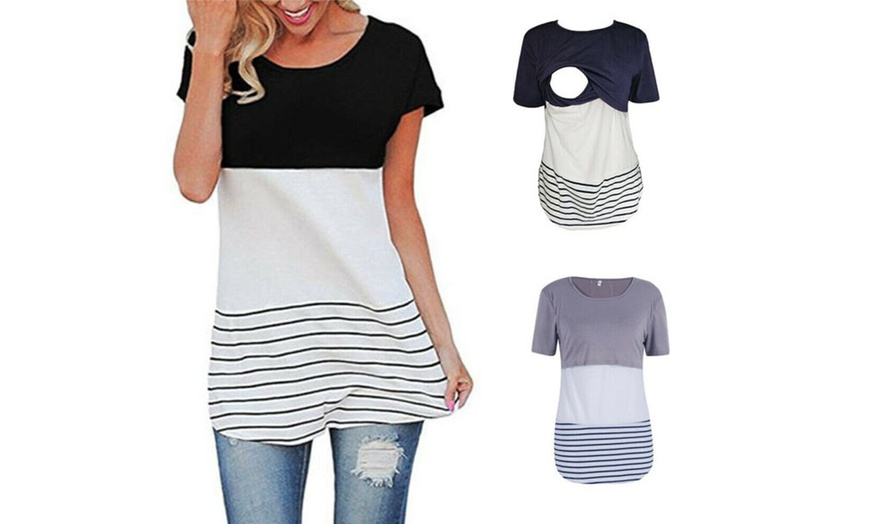Up To 68 Off On Maternity Clothes Breastfeedi Groupon Goods