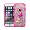 Insten Butterfly Bling Diamante Case For Iphone 6 6s Plus Hot Pink