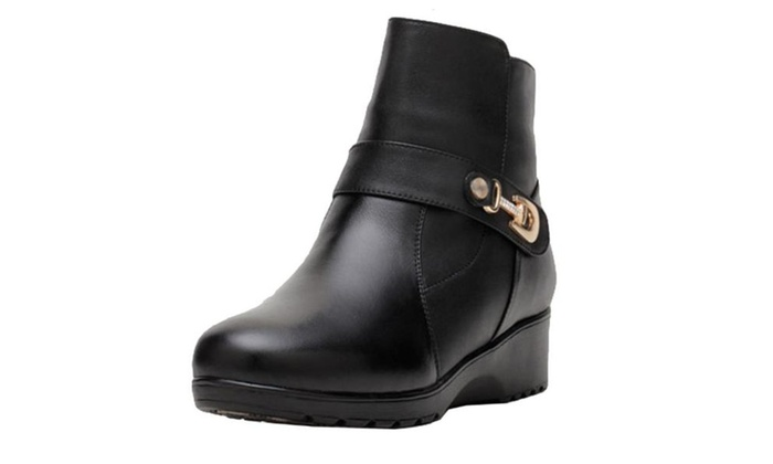 Women's Cattlehide Fashion Boots