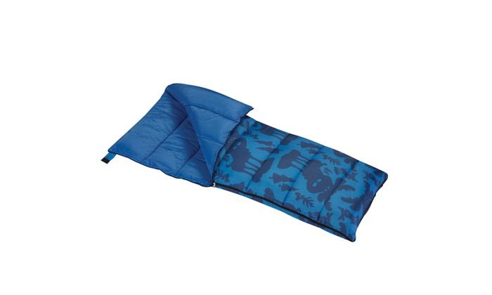 Wenzel Boys Moose Sleeping Bag 40 Degree Short Right Handed