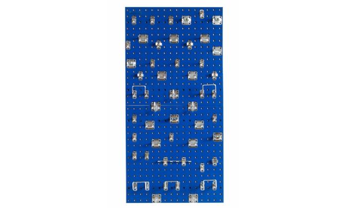 (2) 24x24 Blue LocBoards/46 Hooks