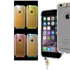 Insten For iPhone 6 Star LED Flash Light Clear TPU Hybrid Case Cover