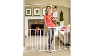 Regalo Extra-Wide Metal Walk-Through Gate