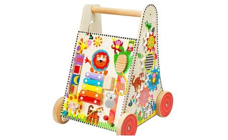 Alex Brands 0A1966 Jr. Jungle Fun Activity Cart a51aba4e-c20c-41bc-8f24-53c17c2f983b