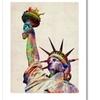 Michael Tompsett 'Statue of Liberty' Canvas Rolled Art