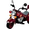 Maroon Marauder Motorcycle - Three Wheeler