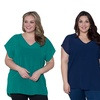 Sealed with a Kiss Designs Plus Size Lilian Chiffon Top