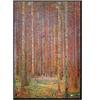 Gustav Klimt Fir Forest I Art Print Poster