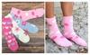 Riah Fashion: Hearts, Polka & Flower Fuzzy Socks