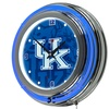 University of Kentucky Neon Clock - Fade