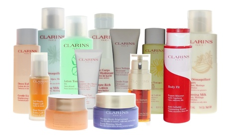 Best of Clarins Skincare Choose from-Lotion OR Cream OR Serum OR Gel OR more