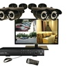 """Security Labs 19""""LED Monitor & 4-channel DVR With 4 Bullet Cameras"""