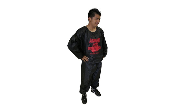 Amber Fight Gear Extreme Sauna Suit L/XL