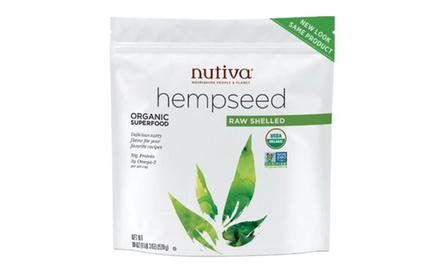 Nutiva Organic Shelled Hempseed (Stand-up Pouch), 19 Ounce (May receive new packaging)
