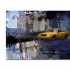 Adam Kadmos Yellow Cab Canvas Print