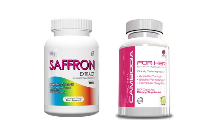 Buy It Now : Women Weight Loss Kit-Saffron Extract & Garcina for Her
