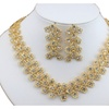 African Beads Gold Color Jewelry Set for Women