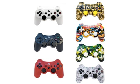 PS3 Bluetooth Wireless Controller Pro with Rechargeable Battery eb16b68f-e1b1-4890-9f29-b7482bccec40