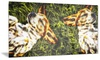 Baby Beagles Dog Metal Wall Art 28x12