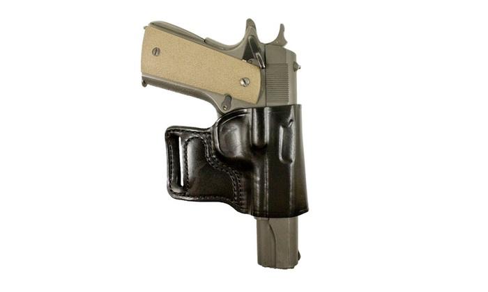 DeSantis E-Gat Slide Ruger LCR LCRX -Right Hand Black