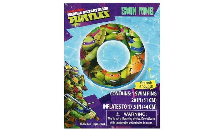 Teenage Mutant Ninja Turtles Kids Swim Ring 20