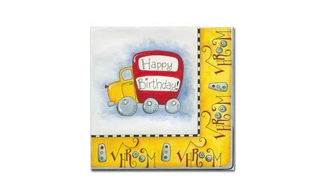 Maureen Lisa Costello 'Car Party Vroom' Canvas Art ca493b86-c141-4b4f-9150-943b382393e7