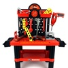 Velocity Toys Superior Work Shop Pretend Play Toy Work Shop Tool Set