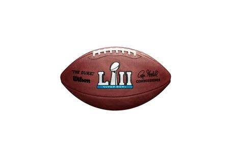 Super Bowl 52 (LII) Game Model Football