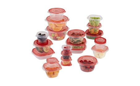 Rubbermaid TakeAlongs Assorted Food Storage Container, 40 Piece Set 8339ce85-0ad6-4685-bf38-1fff3a85a9f0
