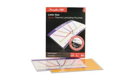 Swingline GBC Fusion EZUse Premium Laminating Pouches, 5 mil a7764eb0-f2c8-4e89-aed5-1d19fcfa72da