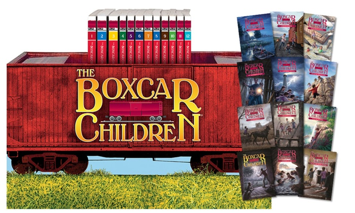 Box Car Children: The Boxcar Children Keepsake Bookshelf