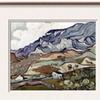 Van Gogh: Landscape, 1890 by Vincent van Gogh