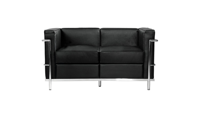 Fine Mod Imports Home Furniture Cube Lc2 Petit Loveseat | Groupon
