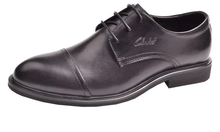 Men's Oxfords leather Dress Shoes