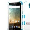 Insten Hard Dual Layer Silicone Case w stand For ZTE Prestige Wh Blue