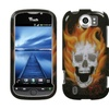 Insten Blaze Skull Phone Case for HTC: myTouch 4G Slide