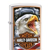 Zippo Harley-Davidson® Mazzi Eagle head and  Engine 29499
