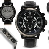 Balmer Chronograph Atalante Mens Watch Black/Black/Black