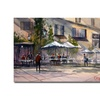 Ryan Radke 'Dining Alfresco' Canvas Art