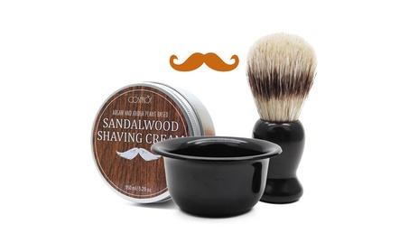 Beard Shaving Soap & Beard Shaving Brush & Shaving Mug 70d69aa8-0214-4283-8165-5294fb445595